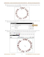 Giáo trình hướng dẫn thực hiện kĩ thuật classic flare trong video clip phần 9 pptx