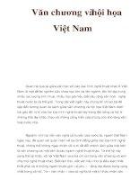 Văn chương và hội họa Việt Nam pps