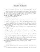 Bài giảng kỹ thuật thi công - Chương 5 ppt
