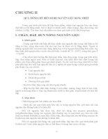 Giáo trình CÔNG NGHỆ CHẾ BIẾN THỰC PHẨM ĐÓNG HỘP - Chương 2 pptx
