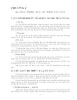 Giáo trình CÔNG NGHỆ CHẾ BIẾN THỰC PHẨM ĐÓNG HỘP - Chương 5 pps