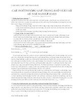 câu hỏi thường gặp trong bảo vệ đồ án tốt nghiệp xây dựng dân dụng (file download về không bị lỗi font)