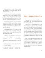NGÔN NGỮ LẬP TRÌNH FORTRAN VÀ ỨNG DỤNG TRONG KHÍ TƯỢNG THỦY VĂN part 6 potx