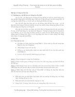 Thực hành xây dựng cơ sở dữ liệu quan hệ bằng Access - Bài 4 pps