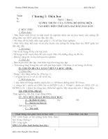 Giáo án Vật Lý lớp 9 ( cả năm ) part 1 pdf