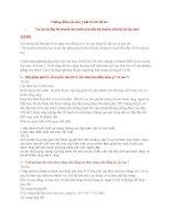 Những điểm cần lưu ý khi trả lời đồ án (1)