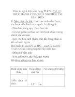 Giáo án nghề điện dân dụng THCS - Tiết 10 : THỰC HÀNH CỨU CHỮA NGƯỜI BỊ TAI NẠN ĐIÊN pdf