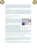 Giáo trình hướng dẫn tìm hiểu về lợi ích của việc backup system và các bước thực hiện phần 8 pptx