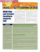 VIETNAM biz UPDATE  ISSUE NO 9 march 9 2009