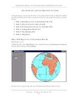CÁC BÀI TẬP THỰC HÀNH VỚI PHẦN MỀM ARCVIEW GIS - BÀI TẬP 2B pdf