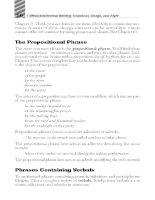 writings grammar usage and style phần 4 potx