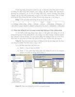 BÀI GIẢNG ỨNG DỤNG TIN HỌC TRONG THIẾT KẾ THÍ NGHIỆM VÀ XỬ LÝ SỐ LIỆU (Phương pháp nghiên cứu nâng cao) part 5 docx