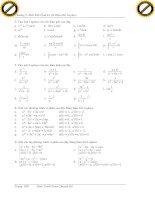 Giáo trình hướng dẫn cách sử dụng bất đẳng thức cauchy và điều kiện để thỏa đẵng thức cauchy phần 10 pot