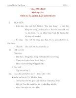 Giáo án âm nhạc lớp 2: Ôn hát bài: BẮC KIM THANG pps