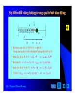 Bài giảng vật lý : Khảo sát dao động điều hòa part 5 docx