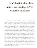 Nghệ thuật tổ chức điểm nhìn trong tiểu thuyết Việt Nam thời kì đổi mới docx