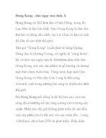 Hong Kong - đảo ngọc của châu Á docx