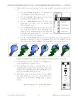 Giáo trình hướng dẫn tìm hiểu tổng quát cách cài đặt và sử dụng chương trình kỹ thuật đồ họa trên maya phần 8 ppsx