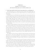 Tài liệu BÊ TÔNG CƯỜNG ĐỘ CAO VÀ CHẤT LƯỢNG CAO - Chương 6 pdf