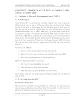 Giáo trình quản lý mạng - Phần 4 Quản trị mạng Windowns 2000 - Chương 4 pot