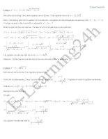 kinh nghiệm giải phương trình vô tỷ
