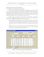 Thực hành xây dựng cơ sở dữ liệu quan hệ bằng Access - Bài 7 ppt