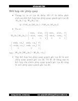 Bài giảng đồ họa : Các phép biến đổi trong đồ họa hai chiều part 3 ppsx