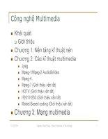 Công nghệ Multimedia- Chương 1: Nền tảng kĩ thuật nén- vuson.tk docx