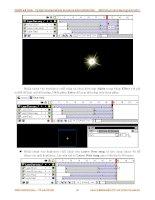 Giáo trình hướng dẫn thực hiện kĩ thuật classic flare trong video clip phần 5 pptx