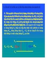 Bài giảng vật lý : Ứng dụng thuyết lượng tử trong nguyên tử Hidro part 2 potx