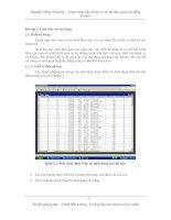 Thực hành xây dựng cơ sở dữ liệu quan hệ bằng Access - Bài 2 doc