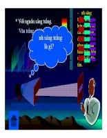 Bài giảng vật lý : Hiện tượng giao thoa ánh sáng part 3 pdf