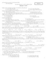 ĐỀ THI HẾT HỌC KỲ I LỚP 12 MÔN VẬTLÝ - Mã đề: 05 doc