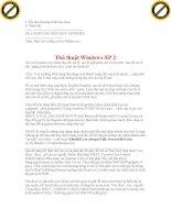 Giáo trình hướng dẫn tìm hiểu về lợi ích của việc backup system và các bước thực hiện phần 9 pptx