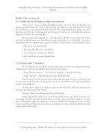 Thực hành xây dựng cơ sở dữ liệu quan hệ bằng Access - Bài 3 pps