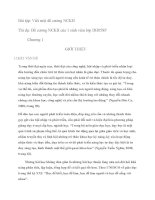 Bài tập: Viết một đề cương NCKH pdf