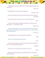 1001 cách tiếp cận làm quen với bạn gái phần 6 pptx