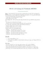 Đề thi tín dụng Vietinbank (8/8/2010) pot