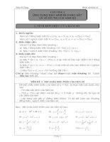 Bài tập giải tích lớp 12
