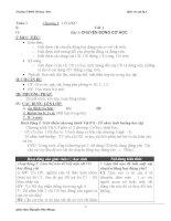 Giáo án Vật Lý lớp 8 ( cả năm ) part 1 pdf