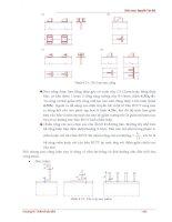 Giáo trình hướng dẫn ứng dụng sơ đồ tính toán chiều cao dầm đinh tán của dầm đơn p5 pptx