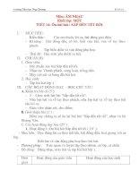 Giáo án âm nhạc lớp 1: Ôn bài hát : SẮP ĐẾN TẾT RỒI potx