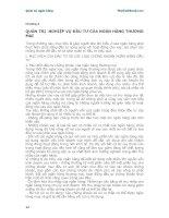 Giáo trình Quản trị ngân hàng - Chương 4 docx