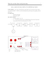 báo cáo thực hành vật lý hạt nhân phần 5 potx