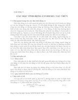 BÀI GIẢNG ĐỘNG CƠ DIESEL TÀU THUỶ - PHẦN 2 LÝ THUYẾT QUÁ TRÌNH CÔNG TÁC - CHƯƠNG 7 ppt