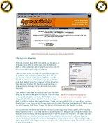 Giáo trình hướng dẫn ứng dụng lập trình phương pháp tối ưu hệ thống administrative templates p6 doc
