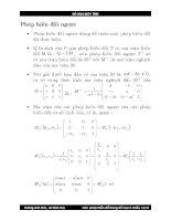 Bài giảng đồ họa : Các phép biến đổi trong đồ họa hai chiều part 4 pot