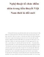 Nghệ thuật tổ chức điểm nhìn trong tiểu thuyết Việt Nam thời kì đổi mới pps