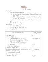 Giáo án lớp 4 môn TẬP ĐỌC LỀU VỊT pps