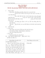 Giáo án âm nhạc lớp 4: Học hát bài: THIẾU NHI THẾ GIỚI LIÊN HOAN pps